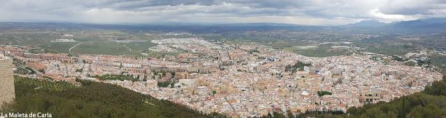 panorámica ciudad de jaén