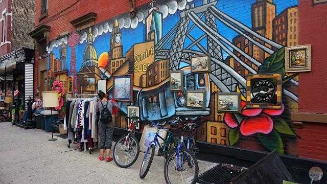 Guía para recorrer Brooklyn: Mercadillo de segunda mano en la calle