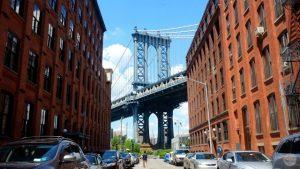 Guía para recorrer Brooklyn: El puente de Manhattan desde la Calle Washington