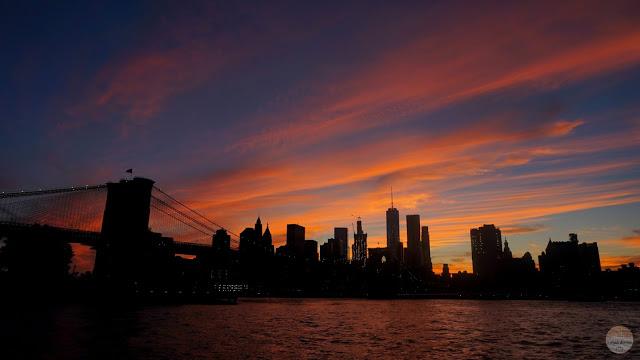 Guía para recorrer Brooklyn: La puesta de sol sobre el skyline de Manhattan