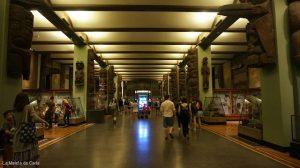 Los pasillos del museo de Historia Natural