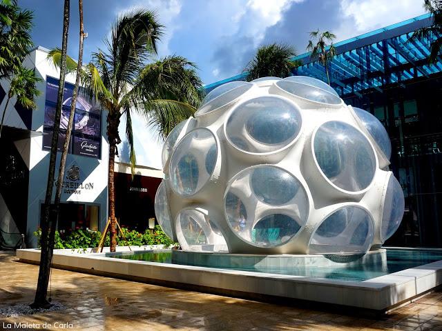 La zona de Design District, Miami