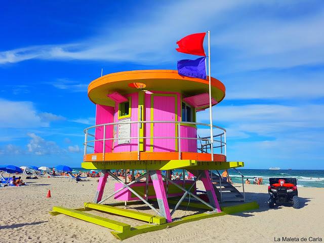 Qué hacer en Miami: casetas de vigilancia en Miami Beach