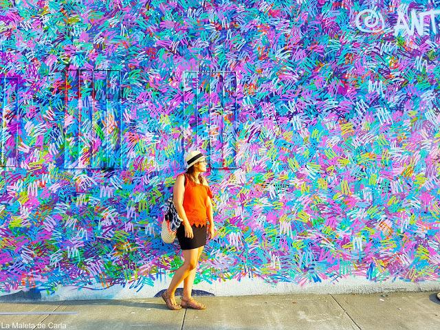 Color y más color en Wynwood Walls