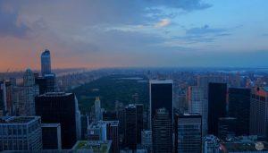 Vistas de Central Park desde el Top of the Rock