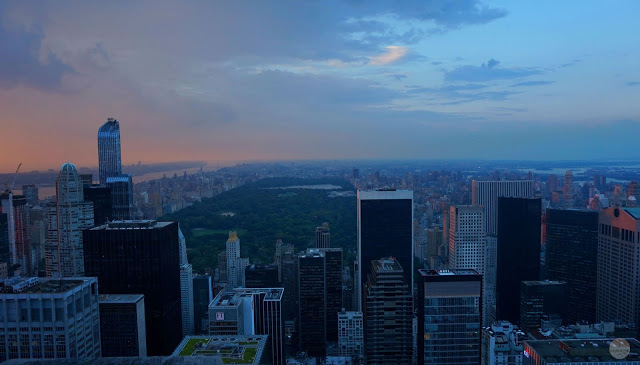 Vistas de Central Park desde el Top of the Rock