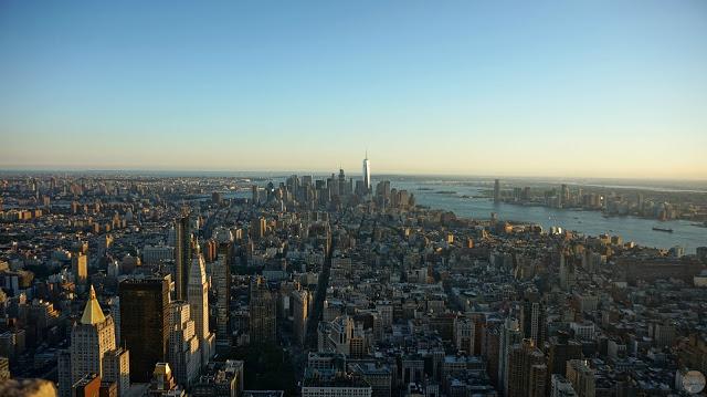 Las vistas del Empire State a toda la parte sur de la isla de Manhattan