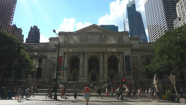 La biblioteca pública de NY