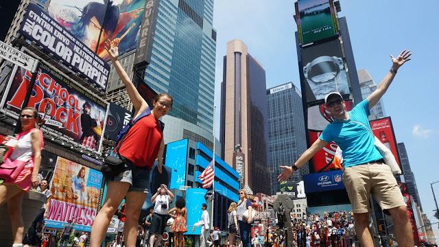 Guía para conocer Midtown Manhattan: nosotros en Times Square
