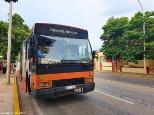 Presupuesto para viajar a Cuba: autobús local Varadero