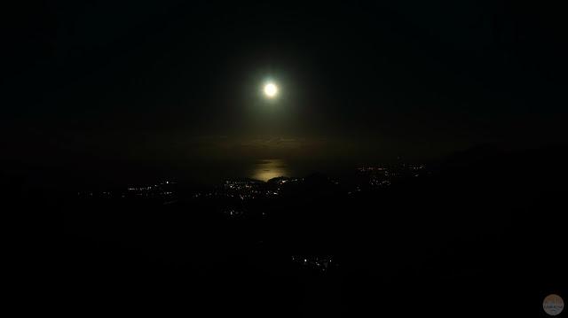 Mirador del Fitu: súper luna