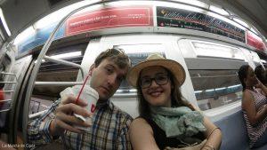 Selfie en el Metro de nueva York