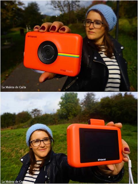 Polaroid snap touch rojo foto