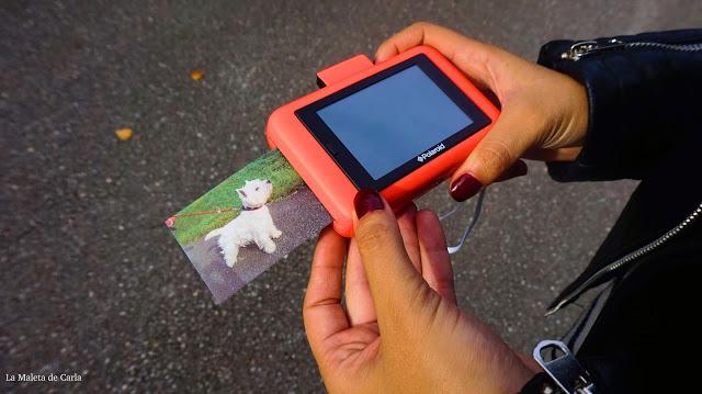 Polaroid snap touch imprimir foto