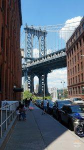 tour de los contrastes en Nueva York: puente de Manhattan