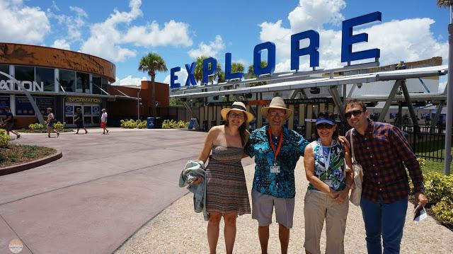Visita al Kennedy Space Center - con nuestros amigos americanos