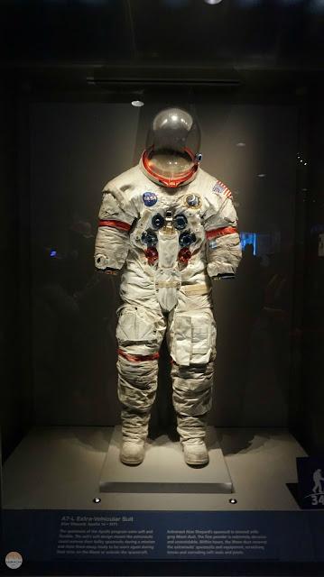 Visita al Kennedy Space Center - el traje real de un astronauta