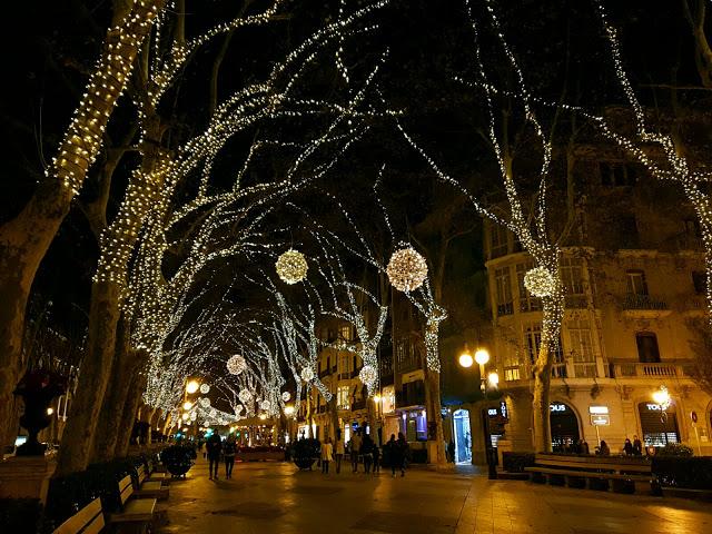 Fin de año en Palma de Mallorca - luces navideñas Palma de Mallorca
