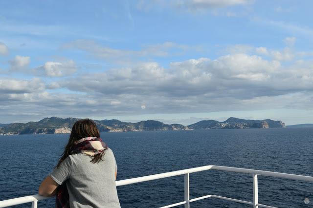 Fin de año en Palma de Mallorca - Vistas desde el ferry de Baleària