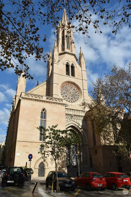 Fin de año en Palma de Mallorca - Iglesia de Santa Eulària