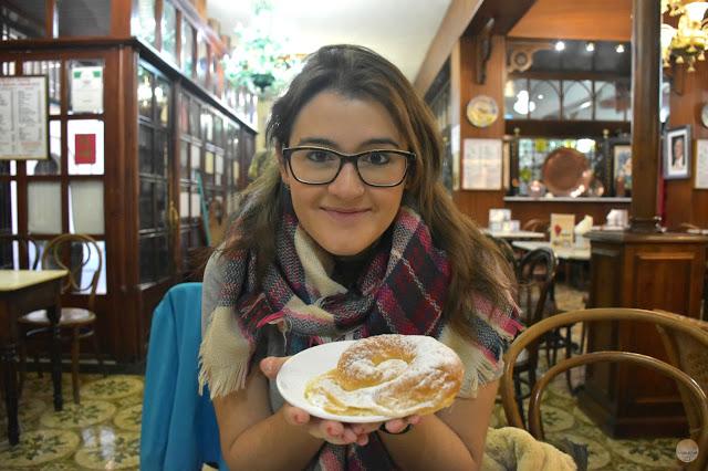 Fin de año en Palma de Mallorca - ensalmadas en Ca'n Joan de S'aigó