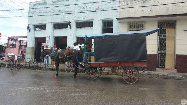 Cómo moverse por Cuba - carro de caballos