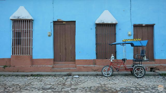 Cómo moverse por Cuba - bicitaxi en Trinidad