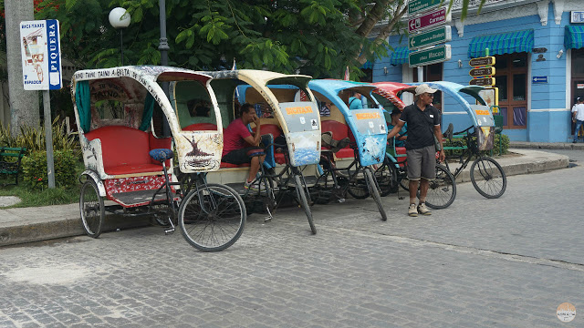 Cómo moverse por Cuba - bicitaxi en Camagüey