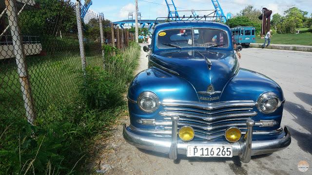 Cómo moverse por Cuba - taxi