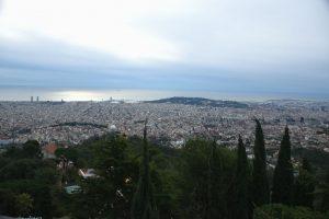 Planes originales en Barcelona - Vistas desde el Tibidabo