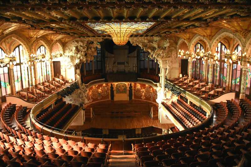 Planes originales en Barcelona - Palau de la Música