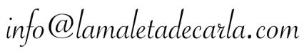 Email de La Maleta de Carla