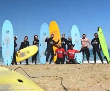Hacer surf en Galicia - Equipo de surf