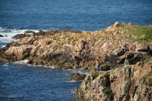 Hacer surf en Galicia - punta chan de Razo