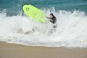 Hacer surf en Galicia - Tabla de surf