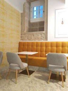 Donde dormir en Santiago de Compostela - Hotel Praza Quintana - El salón / comedor