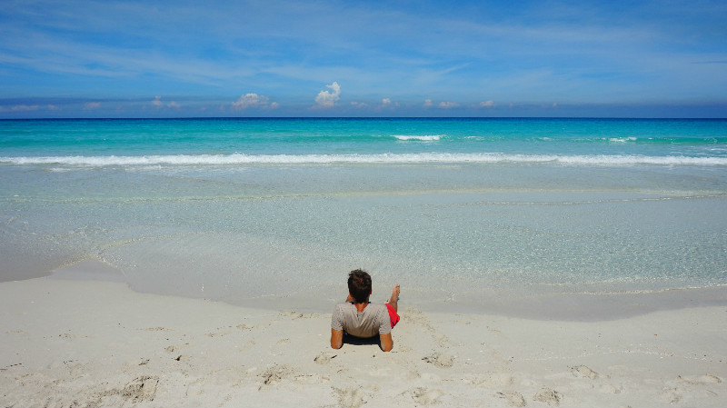 Varadero para mochileros: playa de agua cristalina en Varadero