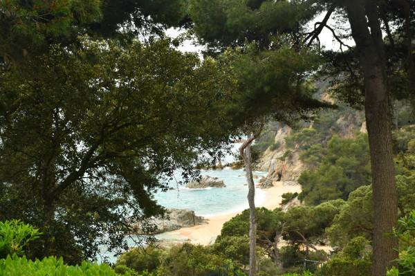 Qué hacer en Lloret de Mar: Vistas a la playa desde los Jardines de Santa Clotilde