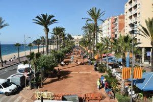 Qué hacer en Lloret de Mar: Passeig de Mossèn Jacint Verdaguer desde el Museo del Mar