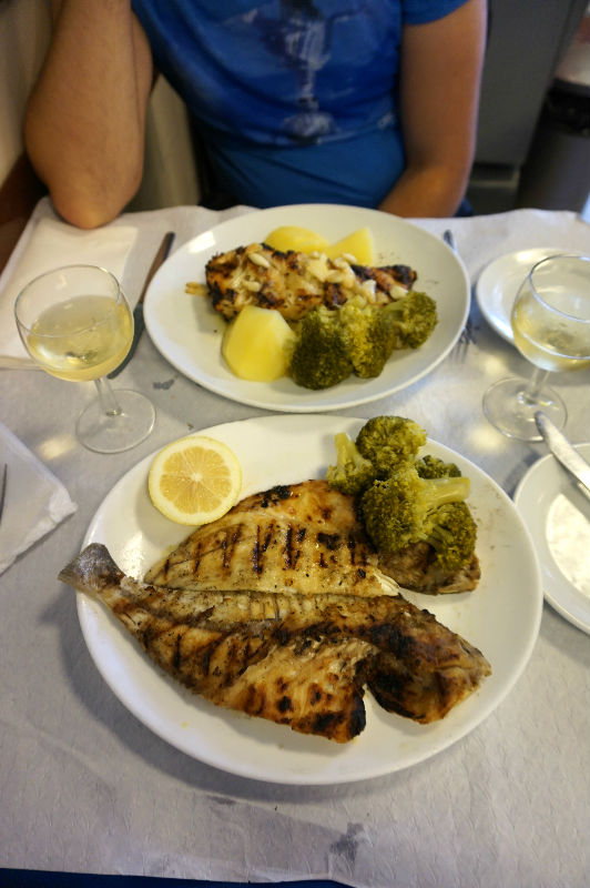 Qué hacer en Cascais: comer pescado fresco
