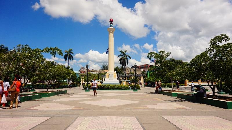 Guía para visitar Santiago de Cuba: plaza de marte