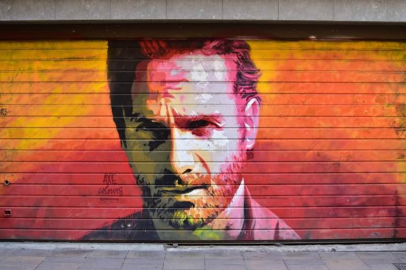 Ruta de AXE Colours en el Barrio de Gracia: Rick Grimes