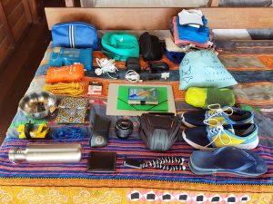 Equipaje mochila sudeste asiático