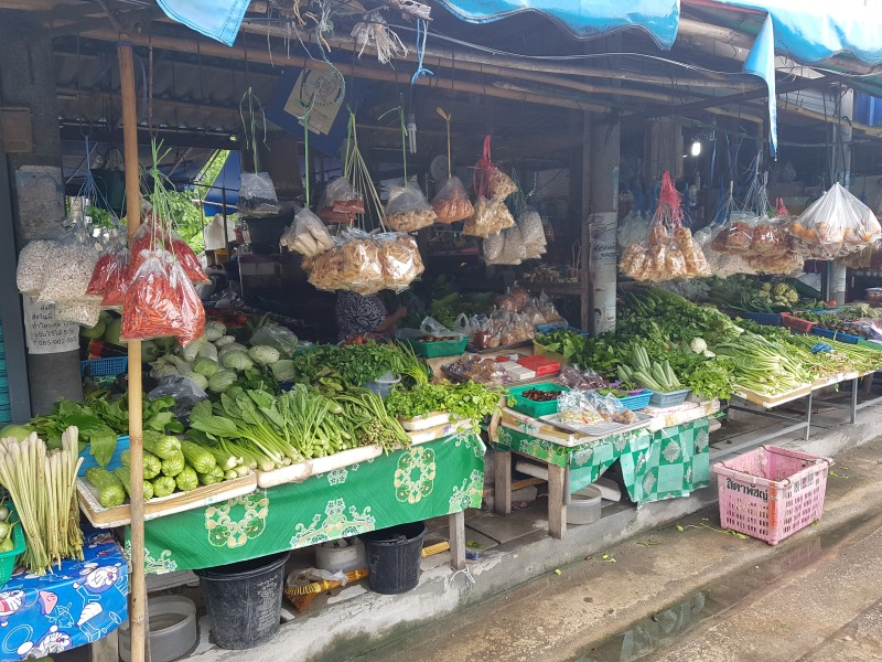 Mercado local de Thongsala