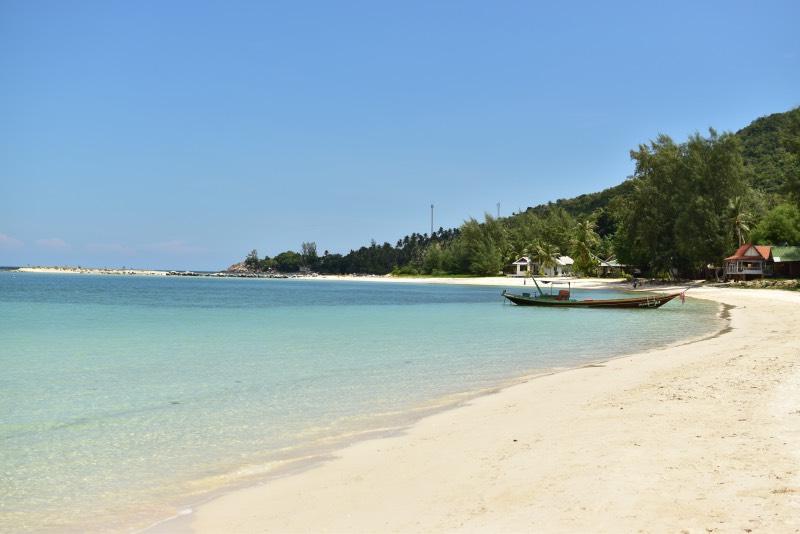 La playa de Chaloklum, el paraíso en la tierra