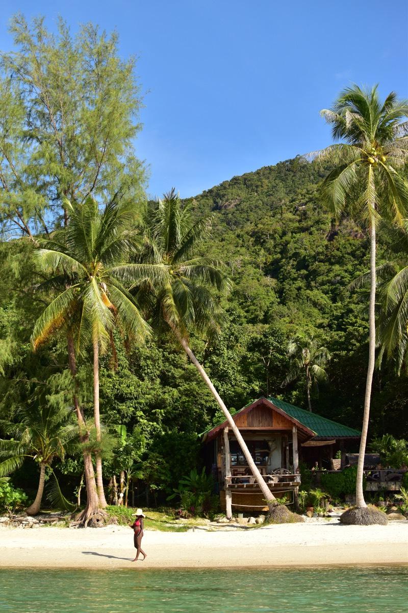 Guía para viajar a Koh Phangan: Haad Khom