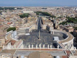 Roma desde lo alto de la Basílica de San Pedro