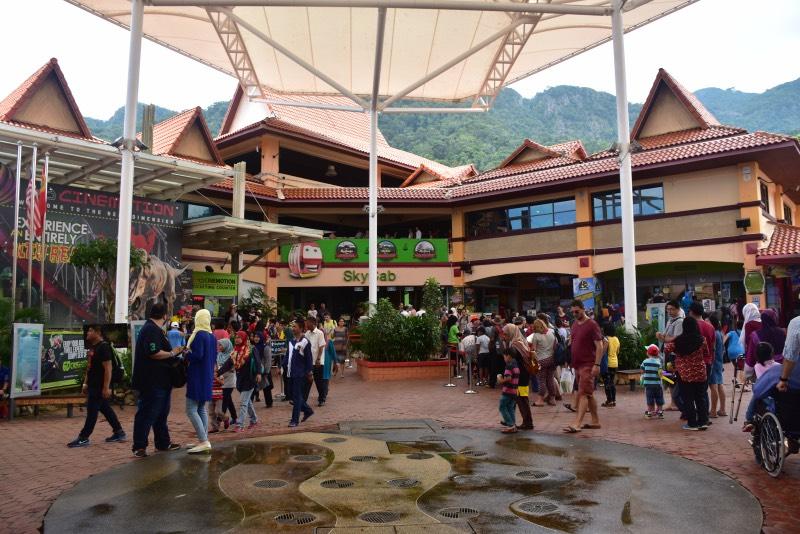 La entrada a Panorama Langkawi