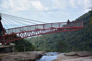 Puente rojo Seven Wells