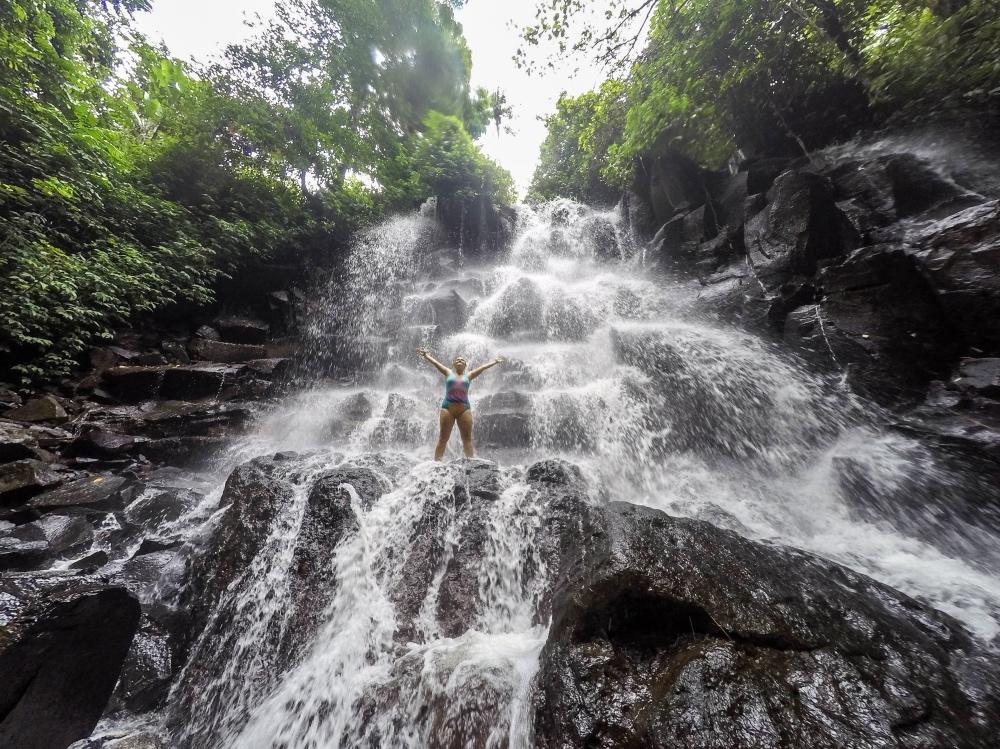Cascada Kanto Lampo en Bali